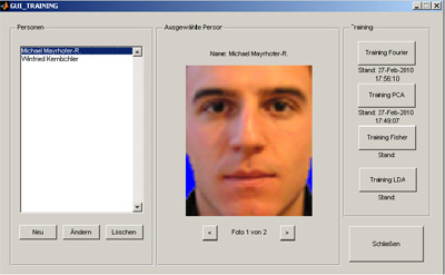 Face recognition using neural networks thesis